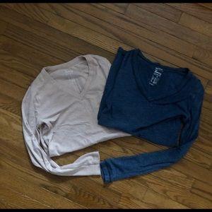 Gap V Neck Maternity Shirts
